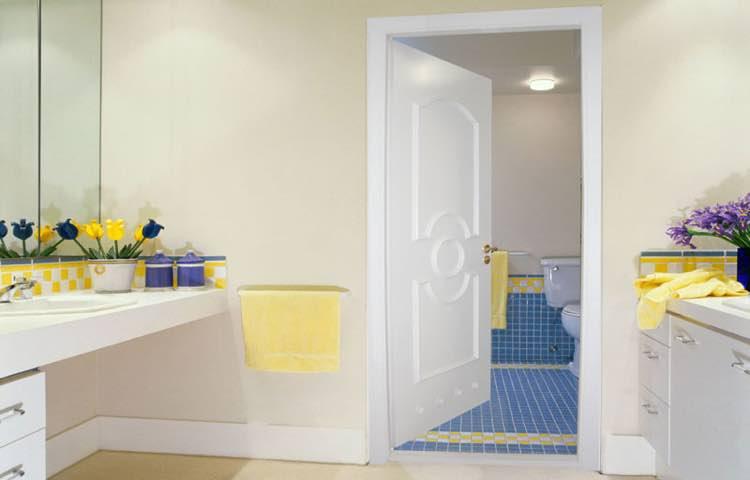 Дверь межкомнатная в ванную или санузел