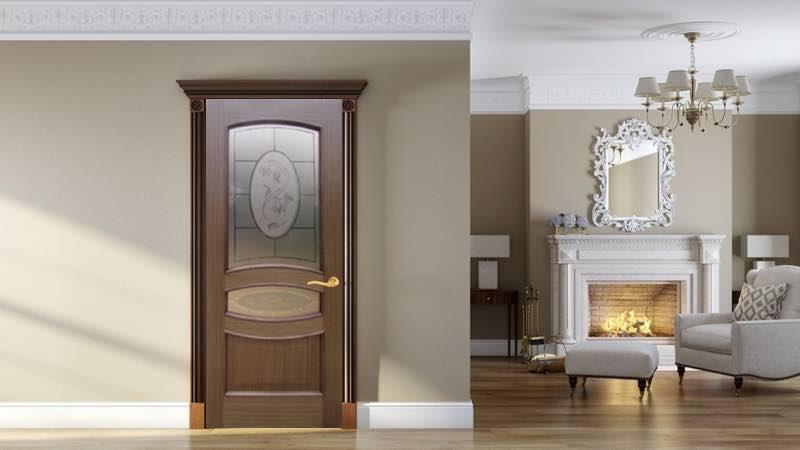 Межкомнатные багетные двери