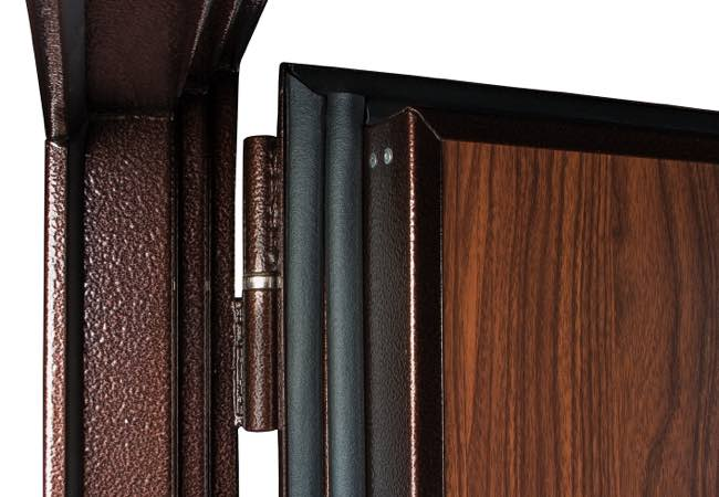 дверь 3 слоя уплотнителя