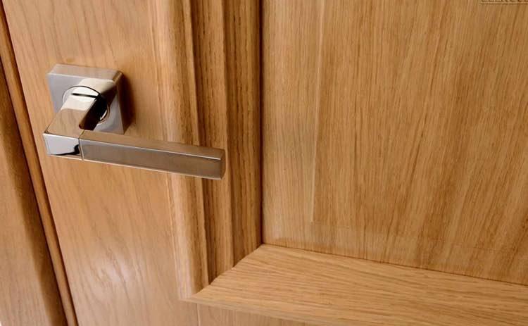 межкомнатные двери с покрытием из шпона