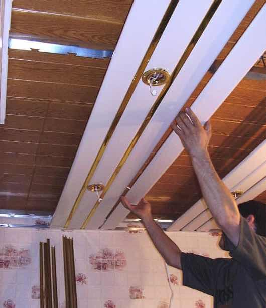 реечные потолки в Протвино